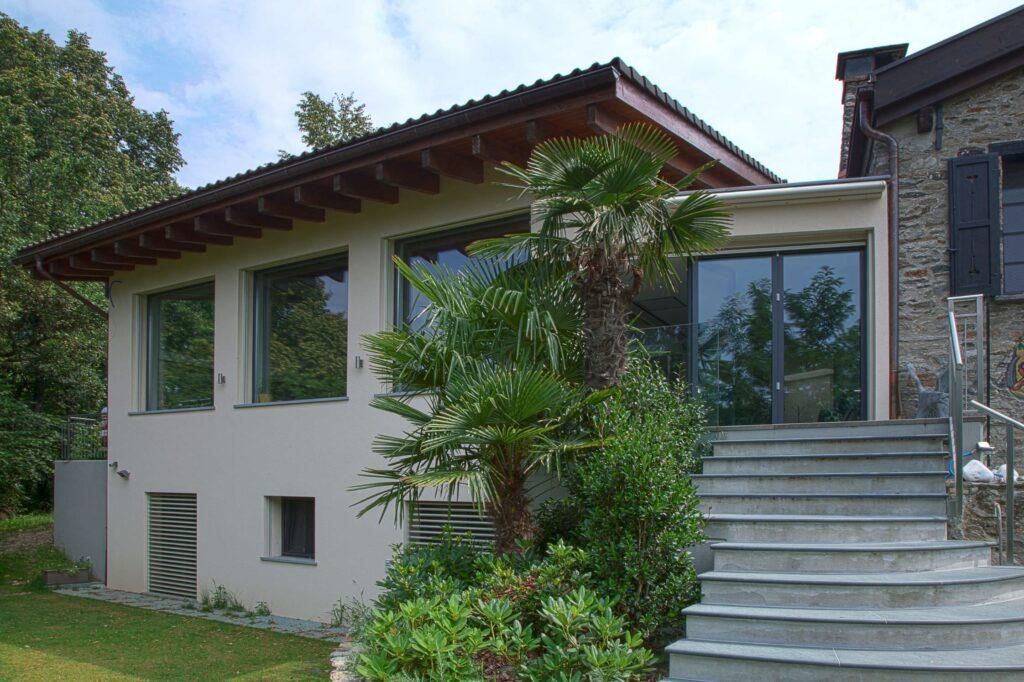 Esterno Casa Ticino
