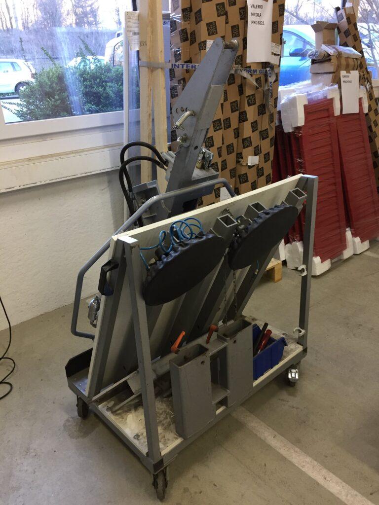 macchinario per vetrate Ticino