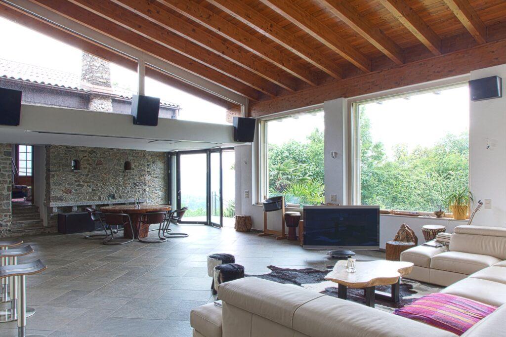 Sala casa in Ticino
