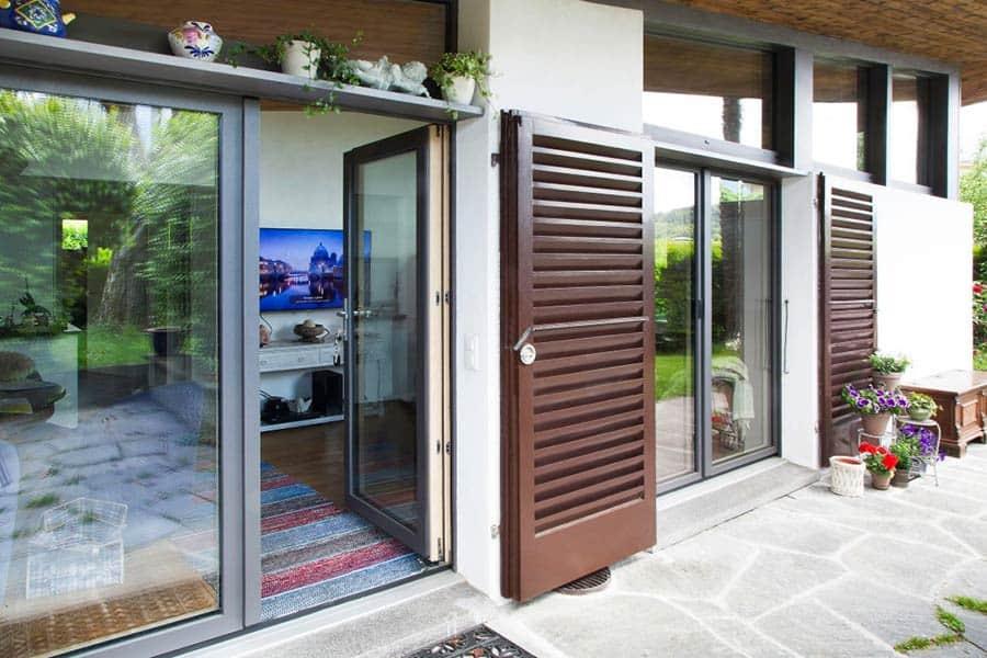Casa Grey Infissi in Vetro e Alluminio in Ticino