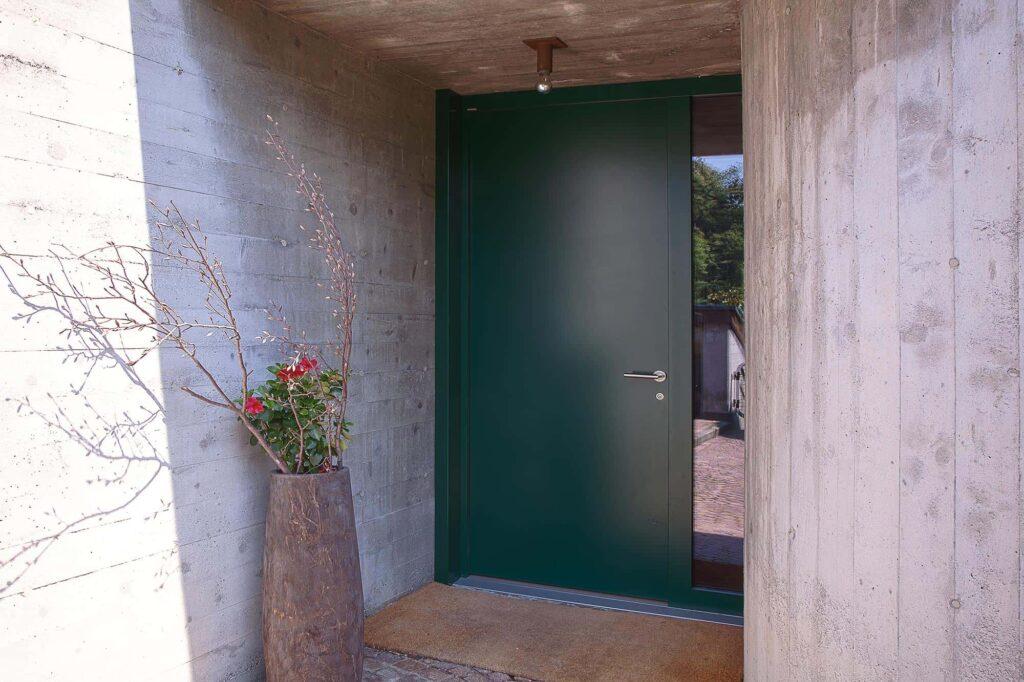 Gentilino Porta d'ingresso vista dall'esterno